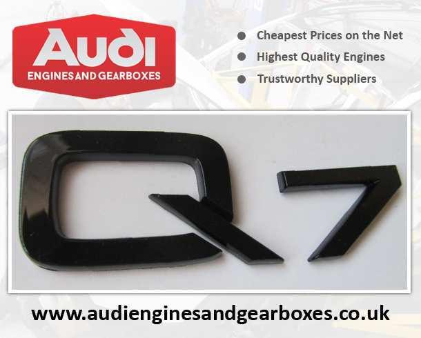 Buy Audi Q7 Engines
