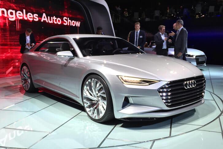 Audi A6 Concept 2017